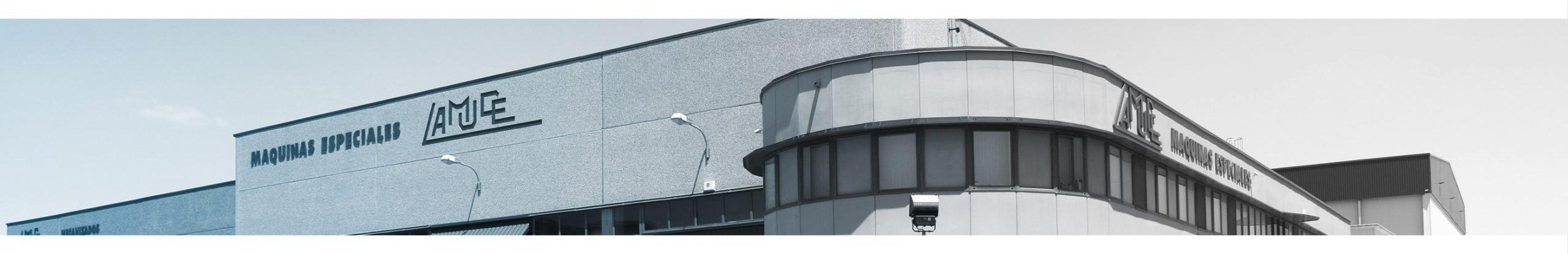 fachada exterior de máquinas especiales LAMUCE