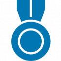 icono valor medalla